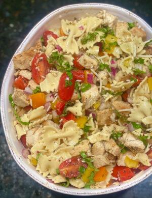 Pasta Salad with Herb Vinaigrette