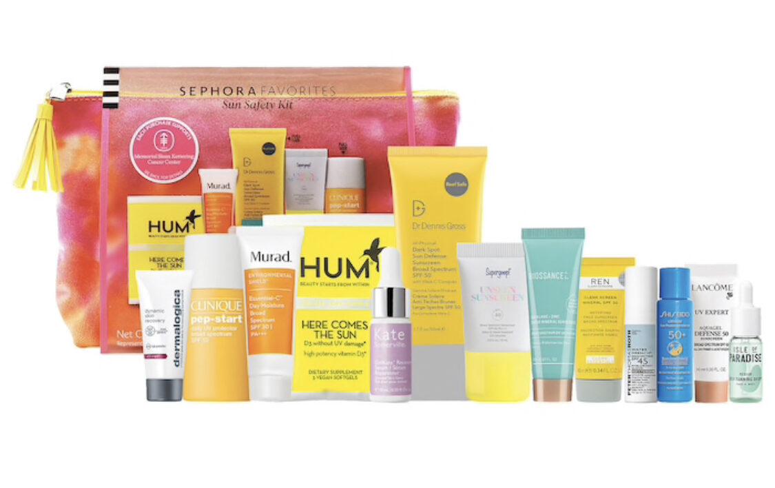 Sephora Sun Safety Kit 2021