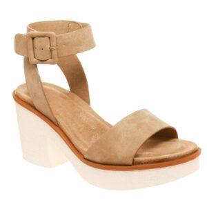 Shop Minette Ankle Strap Platform Heel